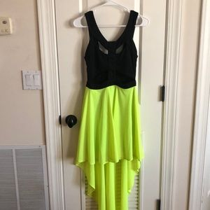 High Low Cut Out Party Dress